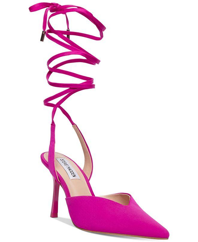 Steve Madden Women's Mari Ankle-Tie Pumps