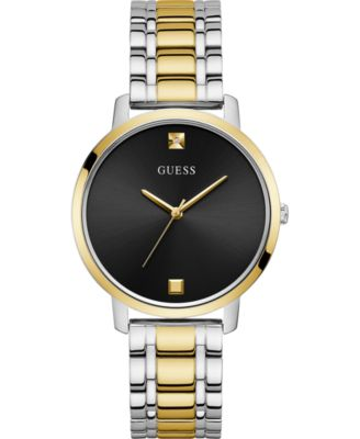 Unisex Diamond-Accent Two-Tone Stainless Steel Bracelet Watch 40mm