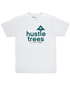 Men's Hustle Trees Graphic T-Shirt
