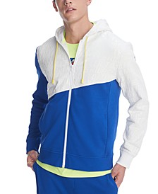 Men's Wayne Colorblock Full-Zip Hoodie