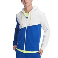 Deals on Tommy Hilfiger Mens Wayne Colorblock Full-Zip Hoodie