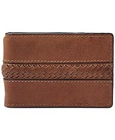 Men's Francis Money Clip Leather Wallet