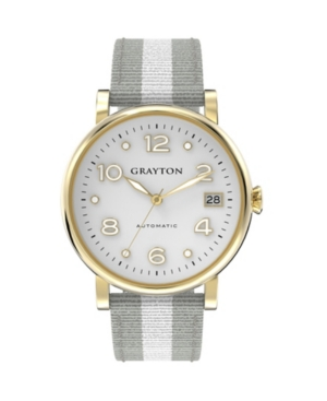 Women's Classic Collection White 2 Colors Fabric Strap Watch 36mm