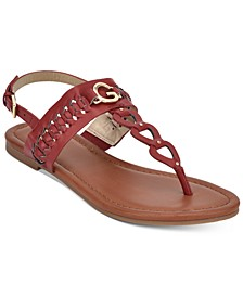 GBG Los Angeles Lovey Flat Sandals