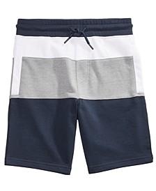 Big Boys Ignacio Pieced Colorblocked Shorts