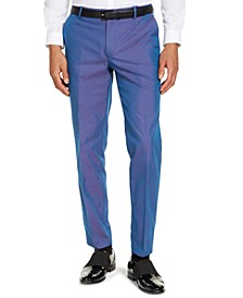 INC Men's Slim-Fit Iridescent Pants, Created for Macy's