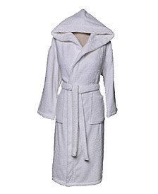 Terry Hooded Turkish Cotton Bath Robe