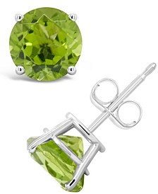 Amethyst (2-1/2 ct. t.w.) Stud Earrings in Sterling Silver (Also Available in Peridot and Swiss Blue Topaz)