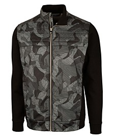 Men's Discovery Windblock Hybrid Print Jacket