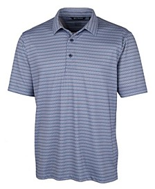 Men's Pike Zig Zag Print Polo Shirt