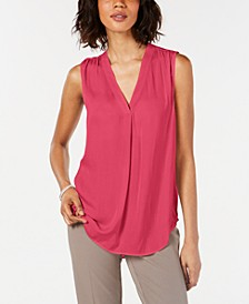 Petite V-Neck Tank Top, Created for Macy's