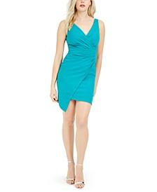 V-Neck Asymmetrical Dress