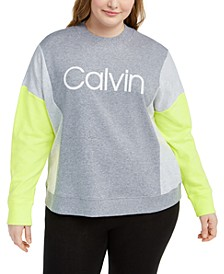 Plus Size Logo Sweatshirt