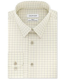 Calvin Klein Men's Classic-Fit Multi-Check Dress Shirt