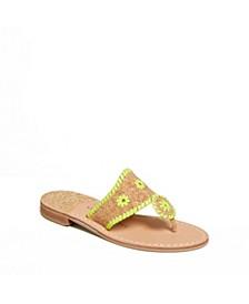 Jacks Flat Cork Sandals