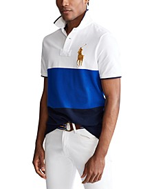 Men's Custom Slim-Fit Polo Shirt