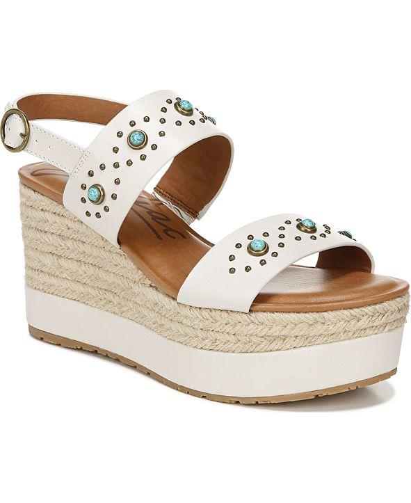 Zodiac Yana Platform Wedge Sandals