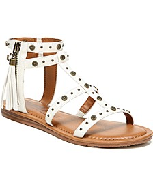 Yvon Studded Gladiator Sandals