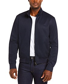 Men's Regular Fit Lightweight Harrington Twill Jacket