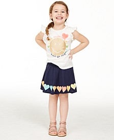 Little Girls Kind People Graphic T-Shirt, Created for Macy's