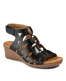 Tiney Gladiator Wedge Sandals