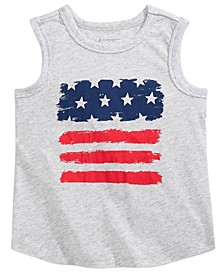 Toddler Boys Red, White & Blue Tank Top, Created for Macy's