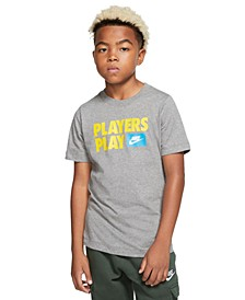 Big Boys Cotton Players Play T-Shirt