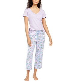 T-Shirt & Pants Pajama Separates, Created for Macy's