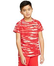 Big Boys Dri-FIT Camo-Print T-Shirt