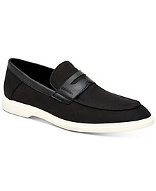 Men's Trapper Silky Suede Penny Loafers