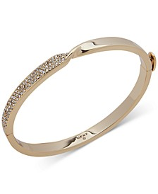 Pavé Twist Bangle Bracelet