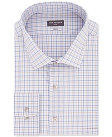 Men's Big & Tall Check Dress Shirt
