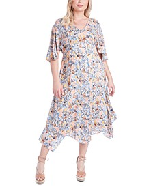 Trendy Plus Size Toni Printed Dress