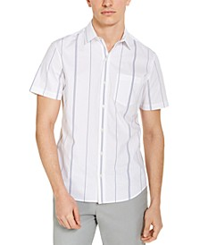 Men's Stretch Yarn-Dyed Stripe Shirt