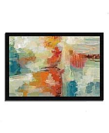 Coral Reef by Silvia Vassileva Framed Painting Print
