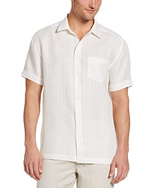 Men's Basic Linen Shirt