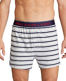 폴로 랄프로렌 속옷 하의 Polo Ralph Lauren Men's knit boxer