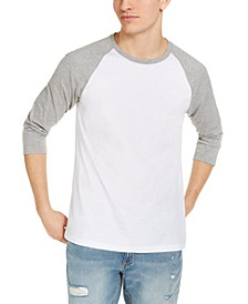 Men's Raglan T-Shirt, Created for Macy's