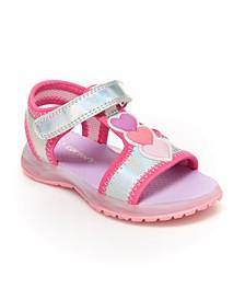 Toddler and Little Girls Lighted Sandal