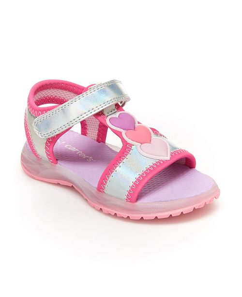 Carter's Toddler and Little Girls Lighted Sandal