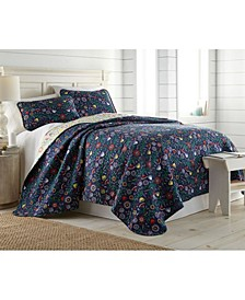 Boho Bloom Duvet Cover and Sham Set, Twin