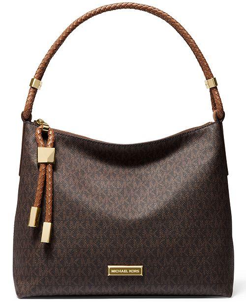 Michael Kors Signature Lexington Medium Shoulder Bag
