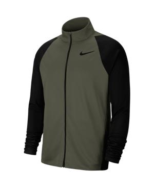 Nike Men's Dri-fit Training Jacket In Cargo Green