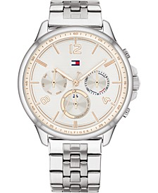 Women's Chronograph Stainless Steel Bracelet Watch 38mm
