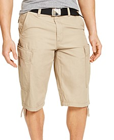 Men's Regular-Fit Ripstop Messenger Shorts