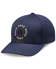 BOSS Men's Cap-Circle Navy Hat