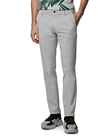 BOSS Men's Schino-Slim Silver Pants
