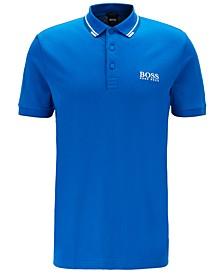 BOSS Men's Paddy Pro Bright Blue Polo Shirt