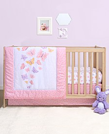 PS by Butterfly 3-Piece Crib Bedding Set