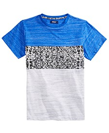Big Boys Trigger Pieced Colorblocked T-Shirt
